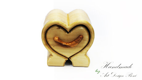 Luxury Art wooden jewelry box